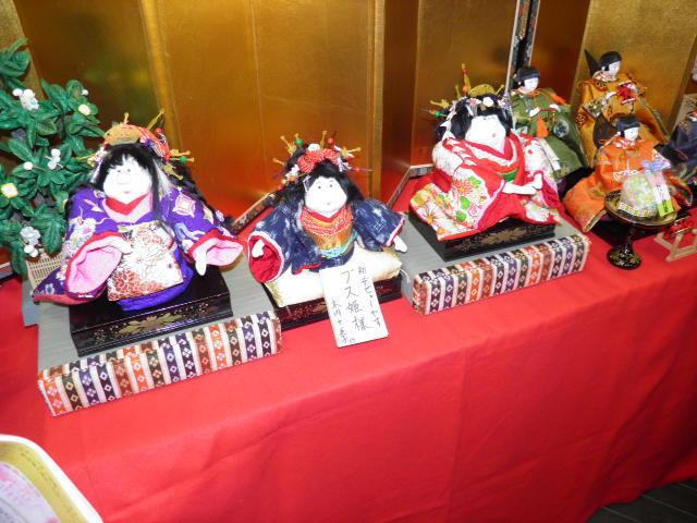 紀州海南第4回ひな祭り、ぶす姫が大人気