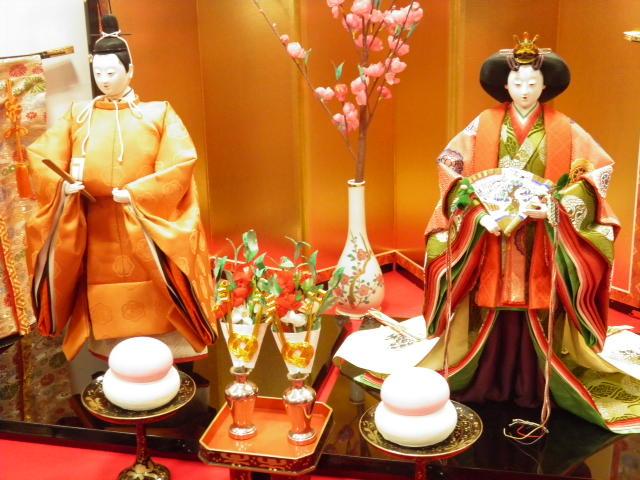 紀州海南第4回ひな祭り、立ち姿がきれい