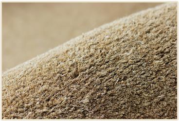 きめ細かい天然ココヤシ繊維100%使用